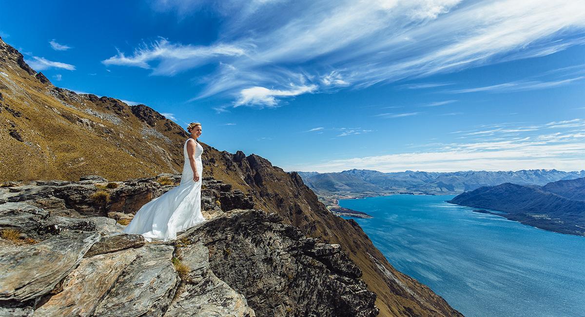 Mountain Wedding Ledge