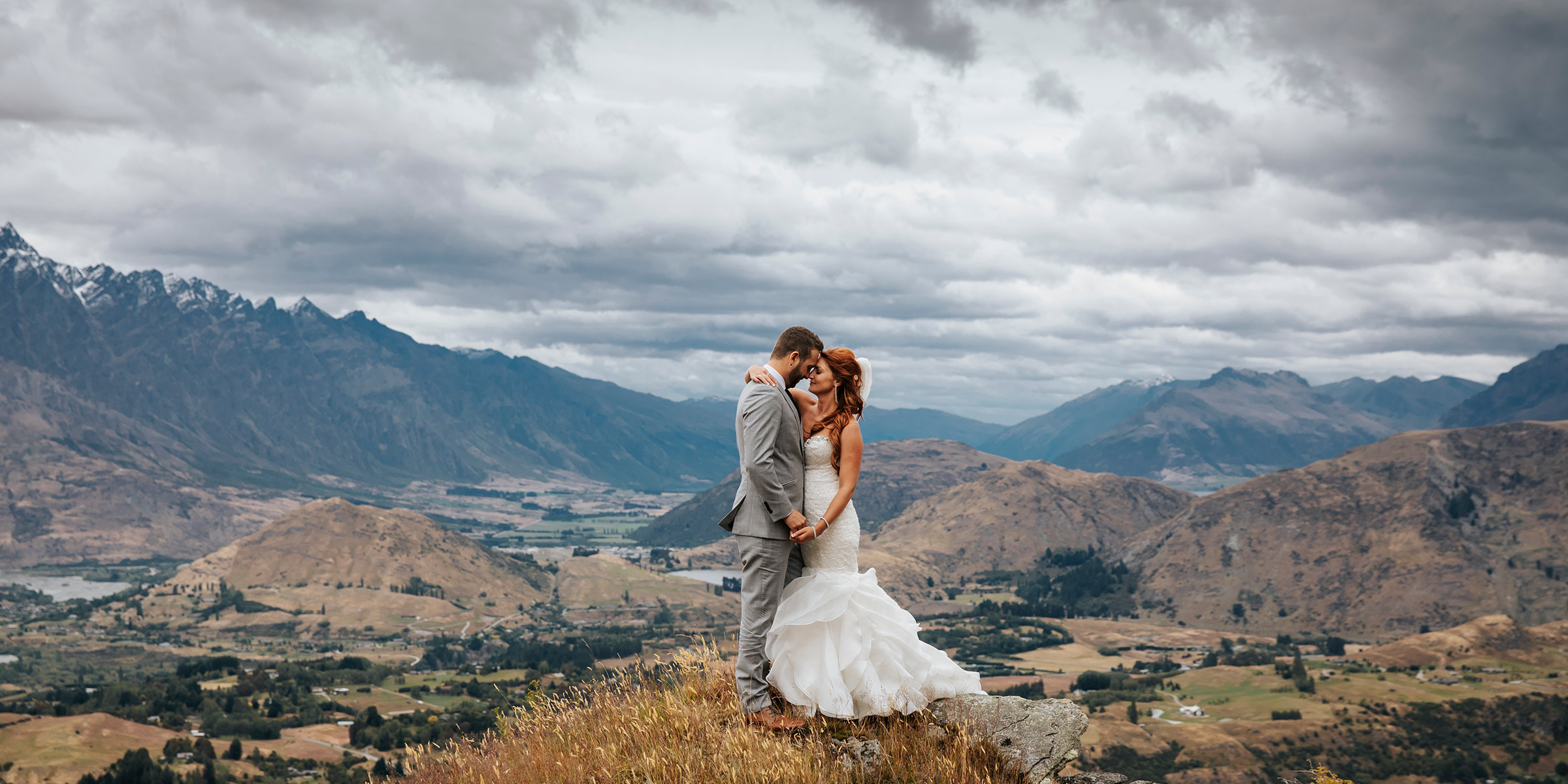 Coronet Peak Elopement Wedding