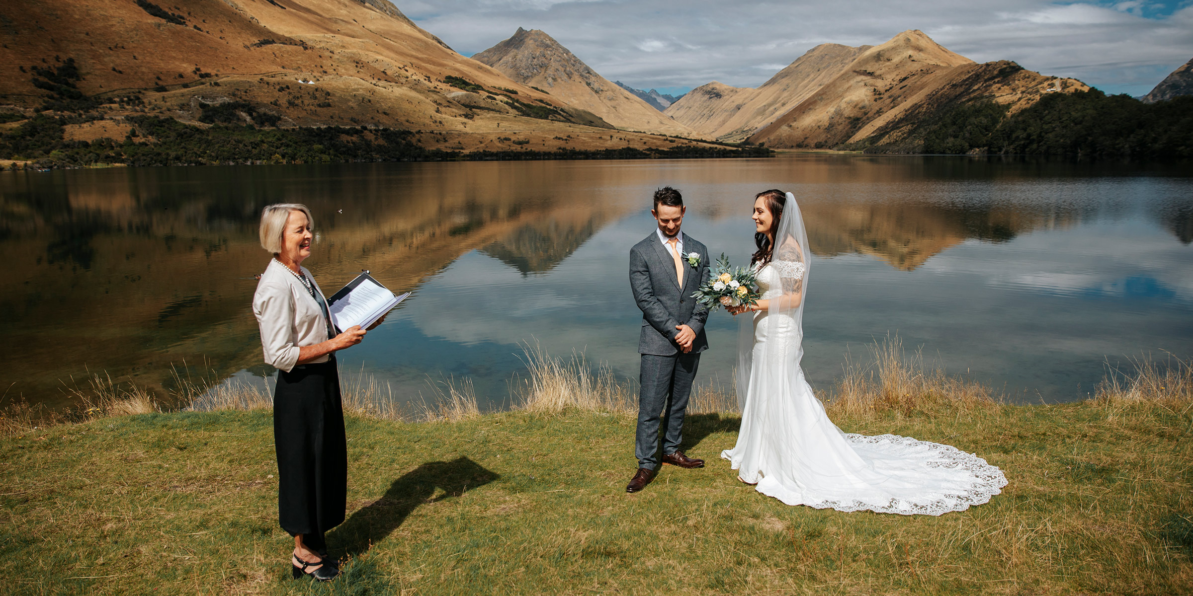 Moke Lake Elopement Wedding