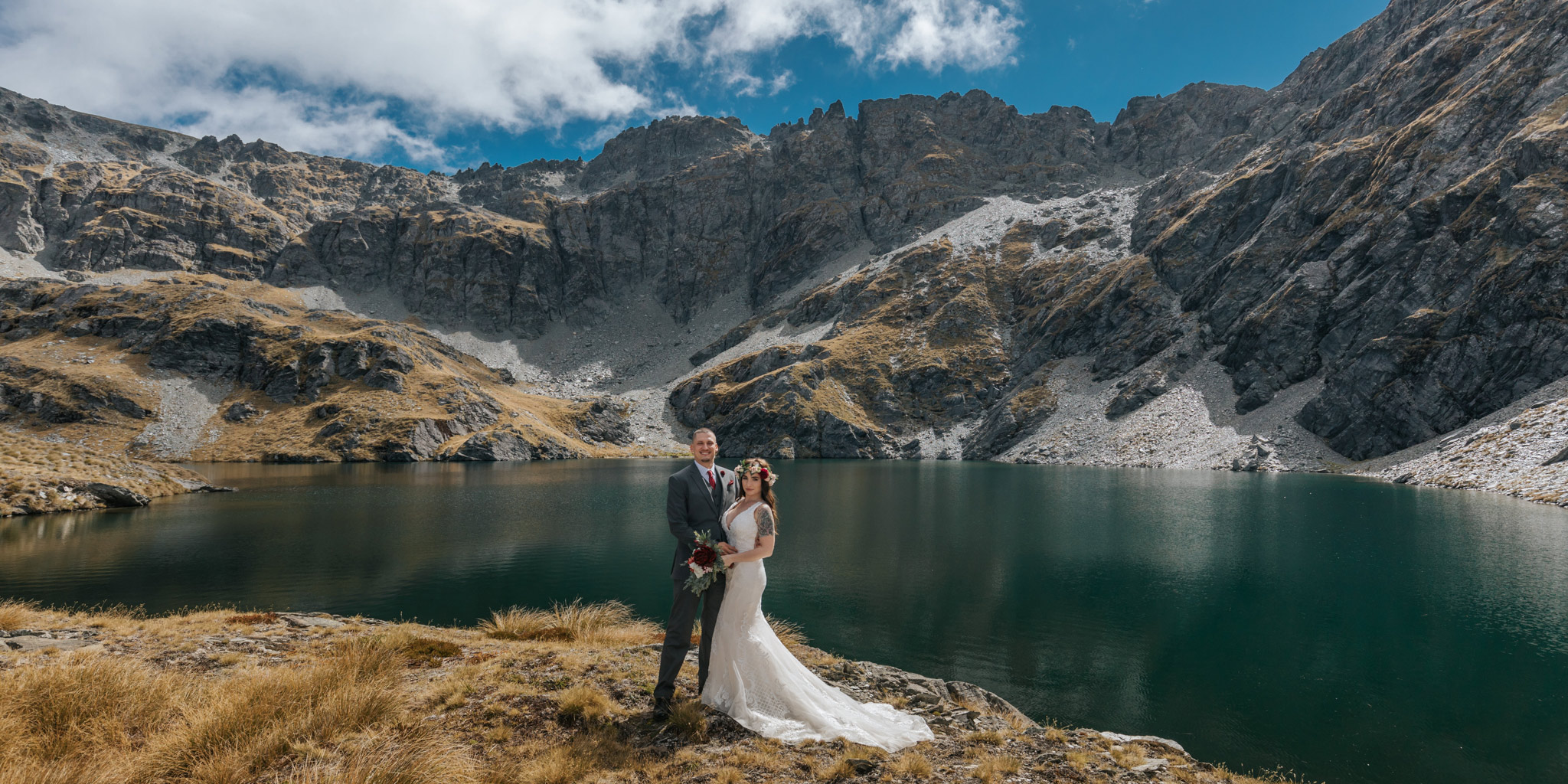 Lake Isobel Mountain Wedding
