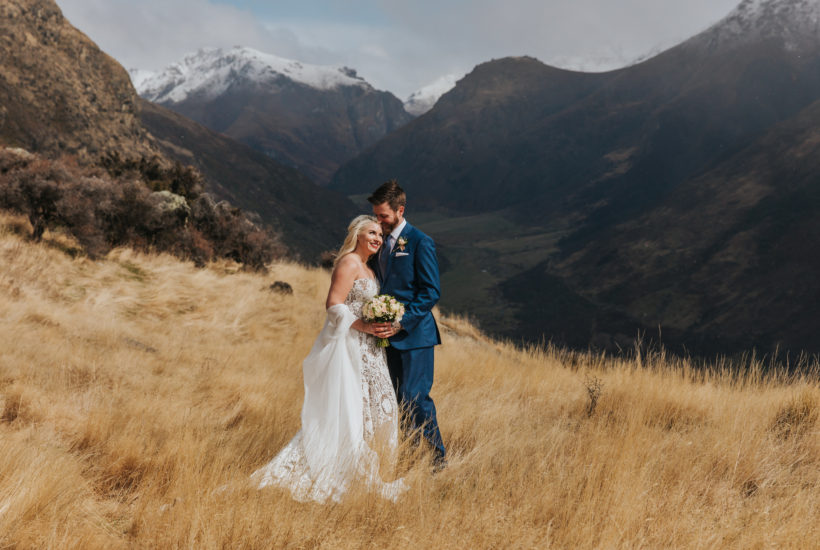 Mountain Weddings on Bayonet Peak in Queenstown