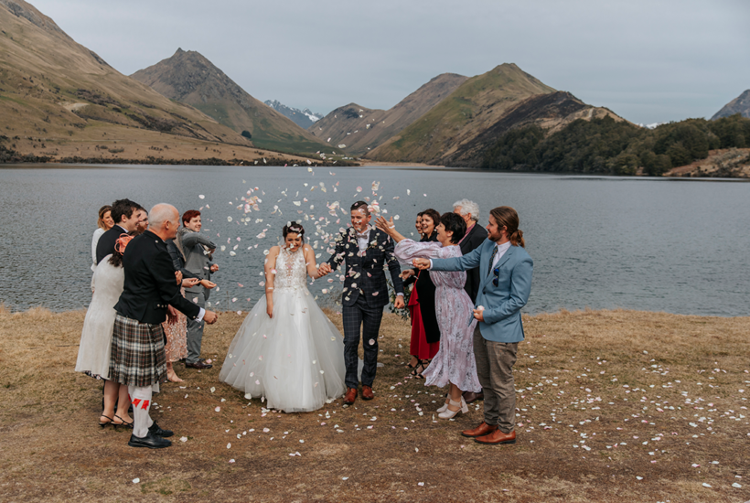 Small Queenstown Wedding