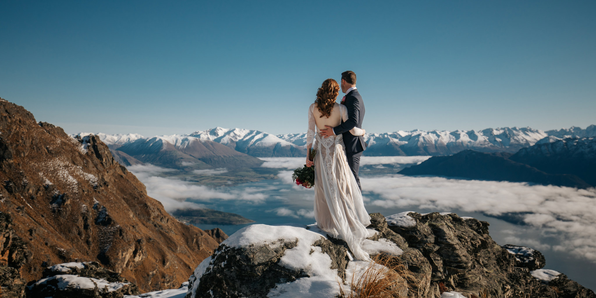 The ledge elopement wedding
