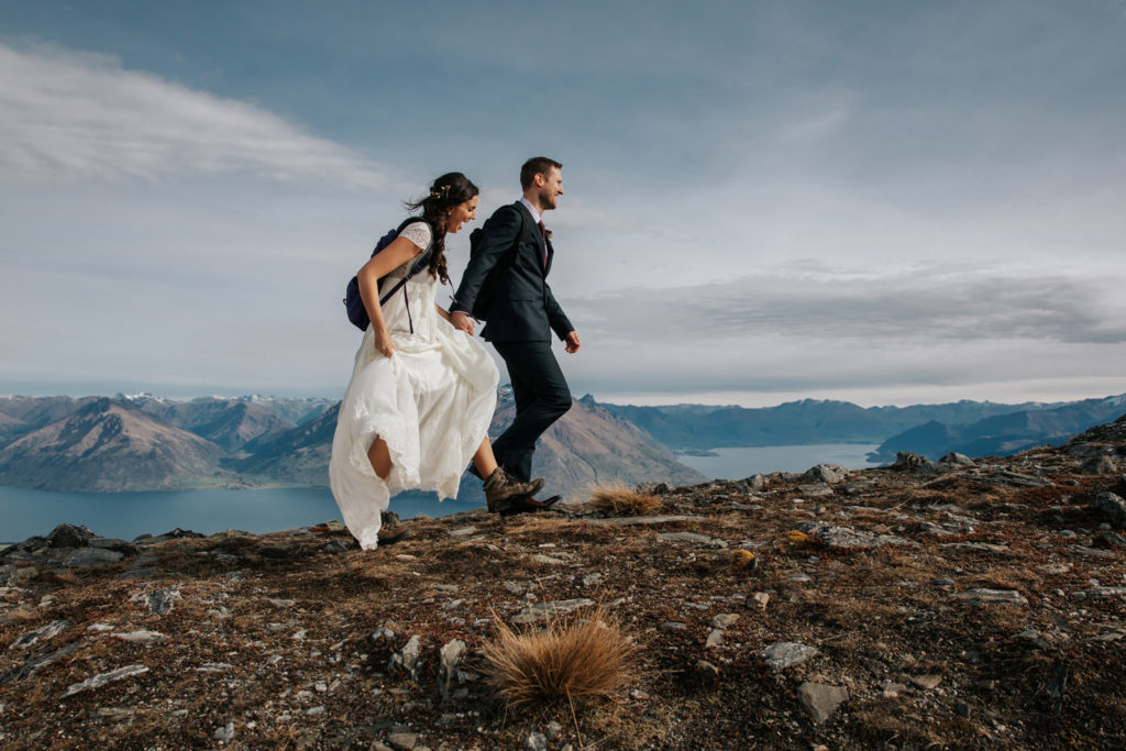Mountain Wedding on The Remarkables