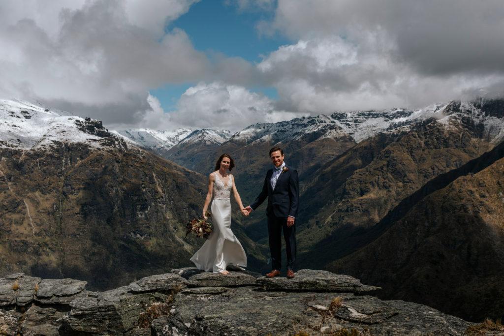 Round Hill Mountain Wedding Queenstown