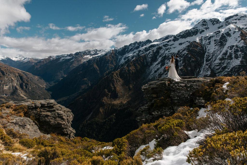 Mountain Wedding on Round Hill Queenstown