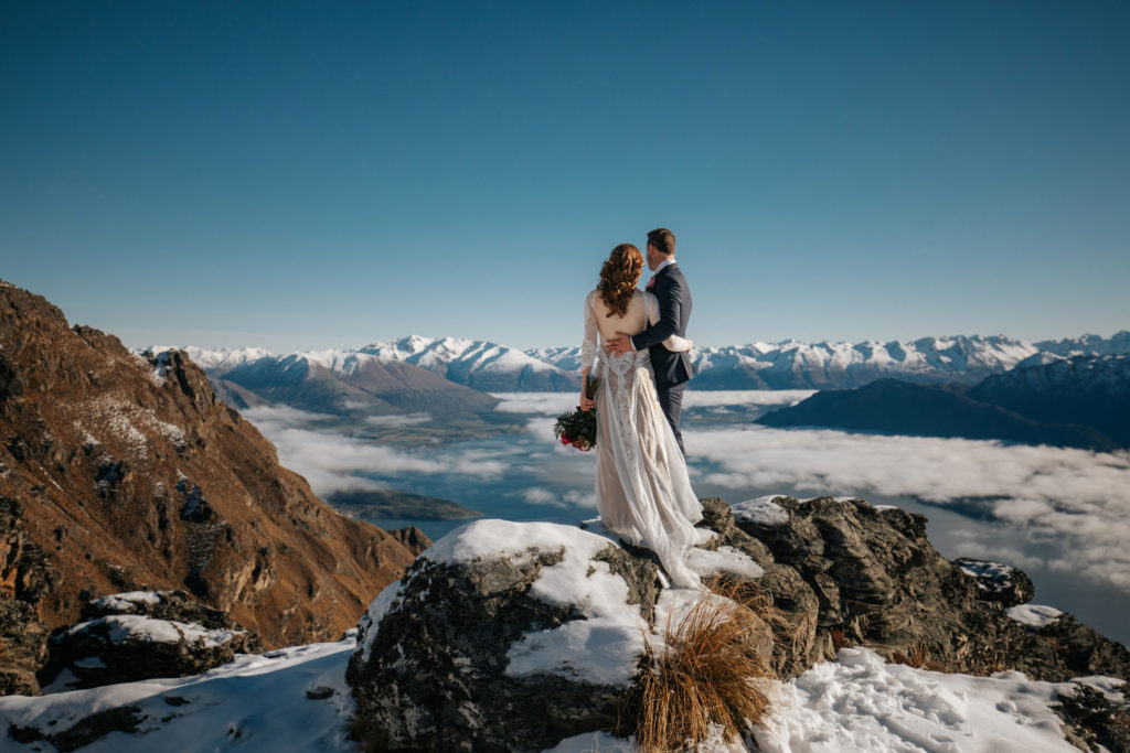 The Ledge Mountain Wedding Queenstown