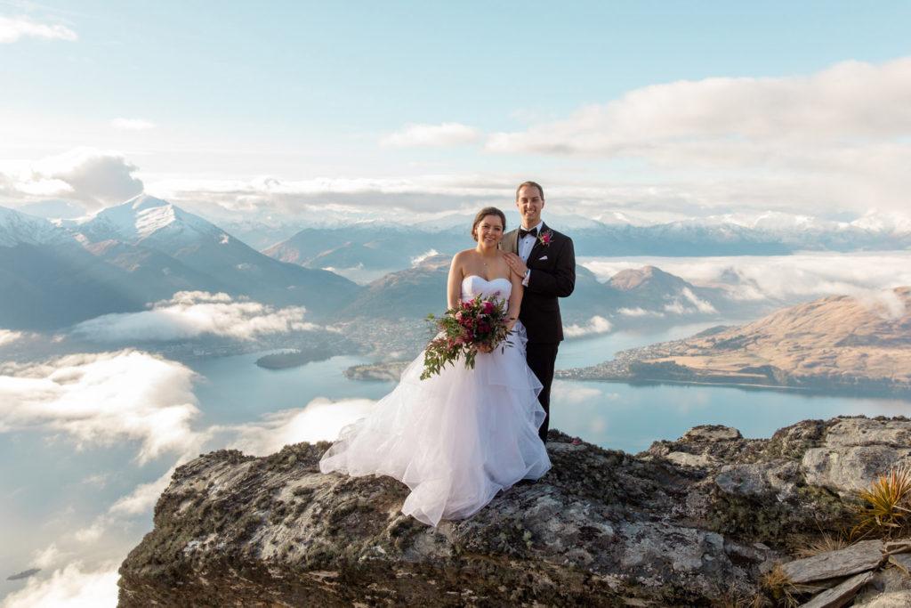 Cecil Peak Mountain Wedding Queenstown